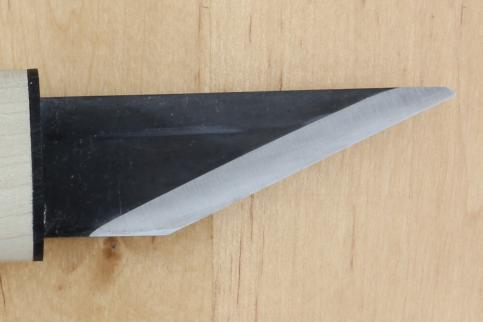 Нож для резьбы по дереву c деревянной рукоятью Y-A-1000